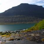 waterfall in iceland eskifjordur fjardabyggd river holmatindur