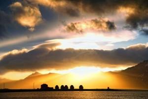 Sun over Mjoeyri